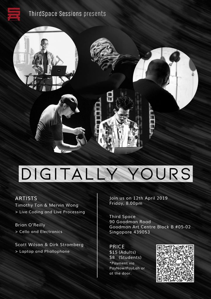ThirdSpace Presents - Digitally Yours (12 Apr 19)