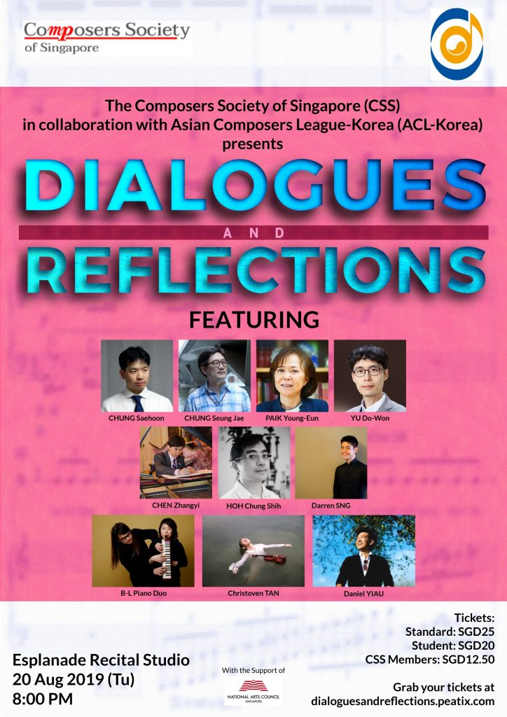 Poster for Dialogues and Reflections