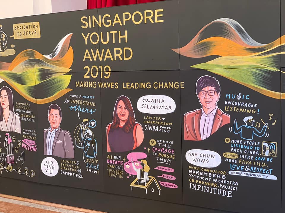 Wong Kahchun wins the Singapore Youth Award 2019.